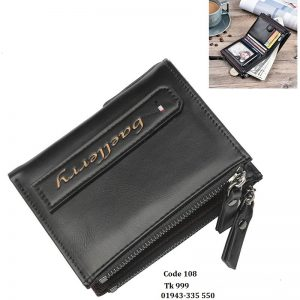 Baellerry Zipper Wallet for Men