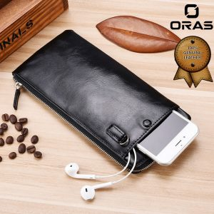 Genuine Leather Mobile Phone Wallet