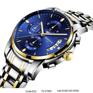 Nibosi Watch Stylish Stainless Steel|915